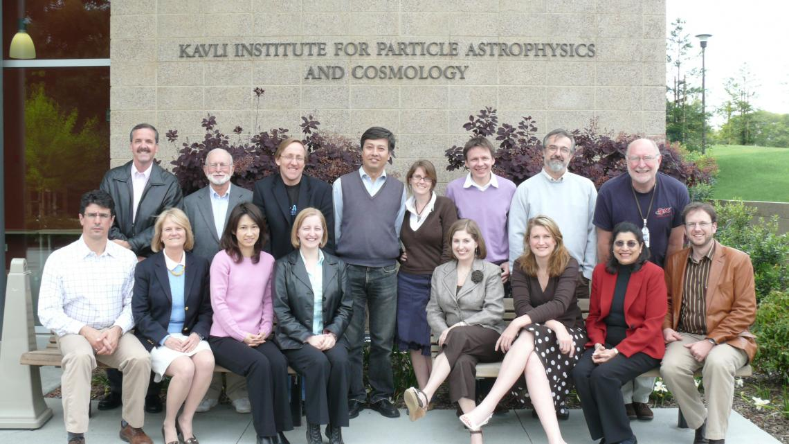The InterAction Collaboration meeting at SLAC in April 2007. (Courtesy KEK)