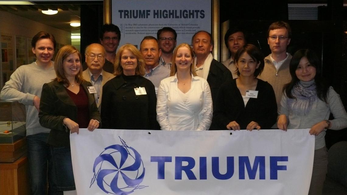The InterAction Collaboration meeting at TRIUMF, 2008. (Courtesy Youhei Morita/KEK)