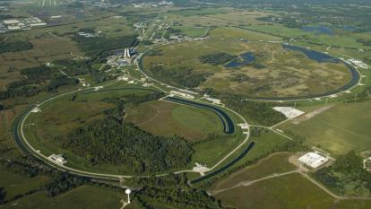 Fermilab from the air