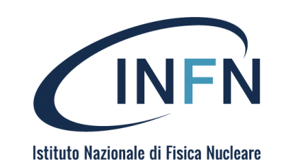 INFN Logo with name stencil