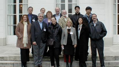 The InterAction Collaboration meeting in Paris, February, 2004. (Courtesy of Anne Mieke van den Bergen)