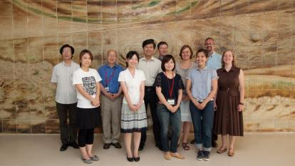 InterAction Collaboration photo at KEK, Tsukuba, Japan, July 2011. (Courtesy: Youhei Morita/KEK)