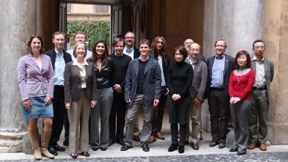 InterAction Collaboration meeting in Rome, November 2012.