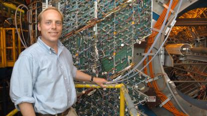 Jamie Dunlop, Associate Chair for Nuclear Physics in Brookhaven Lab's Physics Department