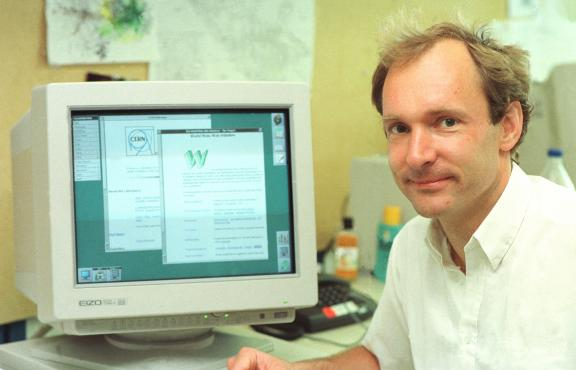 While working at CERN, Sir Tim Berners-Lee invented the World Wide Web.
